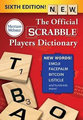 The Official Scrabble Players Dictionary, Sixth Edition by Merriam-Webster: New