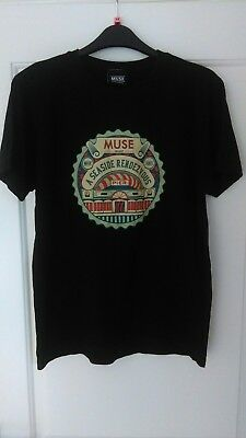 Rare, Muse T-shirt, A Seaside Rendezvous 2009 Small