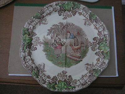 Hexagonal Shaped Copeland Spode Dinner Plate