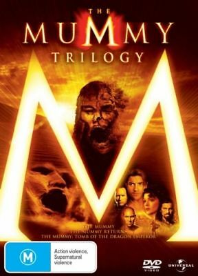 The Mummy Trilogy (DVD, 2009, 3-Disc Set) R 2&4