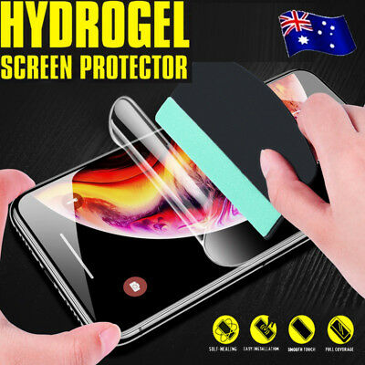 HYDROGEL AQUA FLEX Full Coverage Screen Protector For Apple iPhone X XS MAX XR