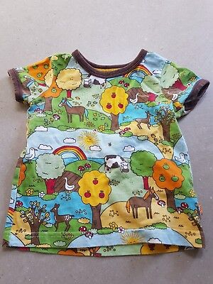Little Bird Mothercare Baby Toddler Boys Girls T-shirt 12-18 Mths Months retro