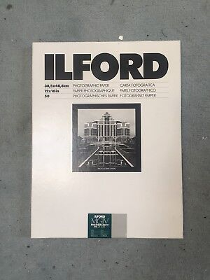 Ilford MGIV photographic Paper 30, 5 X 40 , 6 Cm 12 x 16 in 50