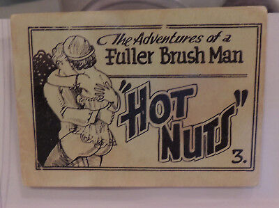 """The Fuller Brush Man in """"Hot Nuts"""" Vintage 1930-40's TB 8 pager"""