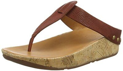 abc56d9bd FITFLOP IBIZA LEATHER Sandal. Sunbaked Tan. Size 8 -  45.00
