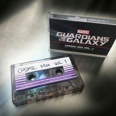 🔥 Guardians Of The Galaxy: Cosmic Mix Vol. 1 Cassette Tape Cosplay New Marvel