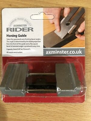 chisel honing guide Made By Axminster Branded As Rider