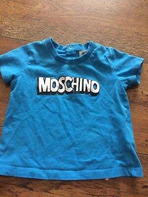 Moschino Baby Tshirt 9-12 Month Fits 6-9 Month M Mth