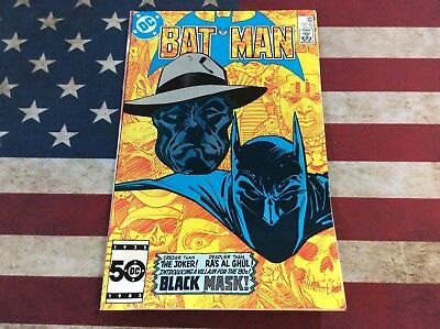 Batman #386 (Aug 1985, DC) First Appearance Of Black Mask! See Pics!