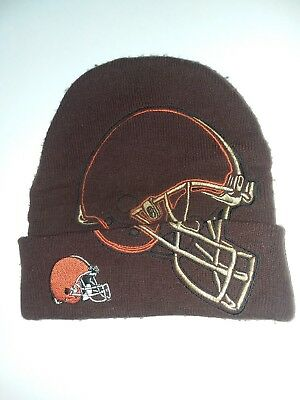 CLEVELAND BROWNS SKULL HAT ONE Size NEW SEWN NFL L  K -  8.00  ce343f4f9
