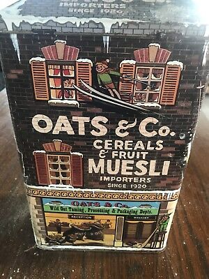 Oats And Co. Cereals And Fruit Muesli Importers Since 1920 Tin