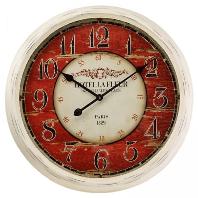 Smart Garden Outside In Designs Grenoble Wall Clock 24 Inches