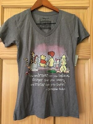 d8343c8d NWT Disney store Women Winnie the Pooh and Friends Tee Shirt Top XS S