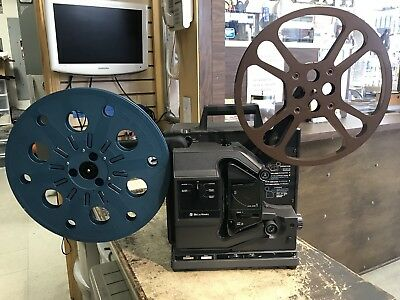 Vintage Bell and Howell 16mm Filmosound Projector Model 2580A