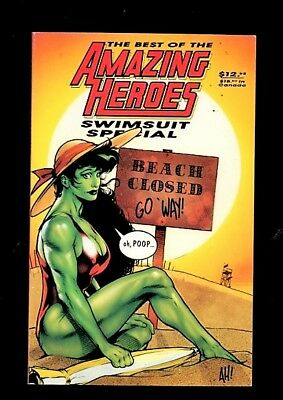 1x Comic Softcover:   Amazing Heroes