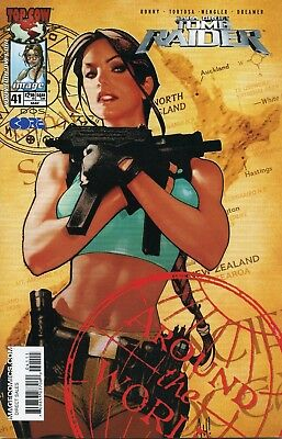 2004 Tomb Raider #41 Vol. 1 ( Adam Hughes Cover ) Top Cow Vf
