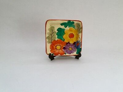 Gray's pottery little tray, hand painted Hanley England