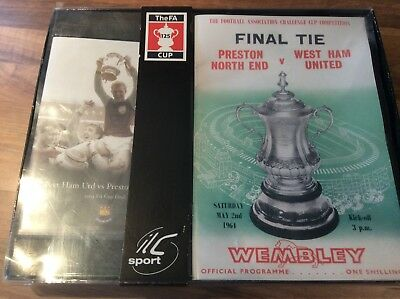 West Ham vs Preston North End FA Cup Final DVD and Official Programme