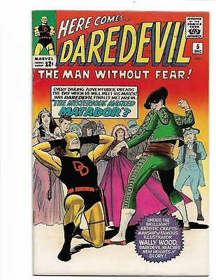 Daredevil #5 - F/VF 7.0 - MARVEL 1964