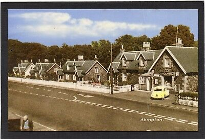 ABINGTON, Clyde Valley, Lanarkshire, Scotland.  M and L National Series postcard