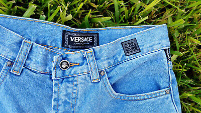 Versace Jeans Couture Womens Light Wash High Waist Jeans Size 29