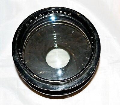 Vintage Ross Lens  - AIRO 1:6 F=20in Lens Min Aperture F/2.9 with Custom Parts.