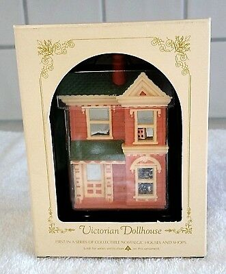 Hallmark Ornament Nostalgic Houses and Shops Series #1 Victorian Dollhouse 1984