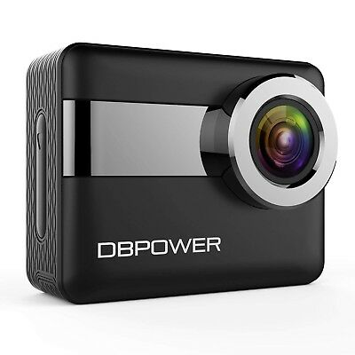 "DBPOWER N6 4K LCD Touchscreen Action Camera 2.31"" Screen 20MP Sony Image"