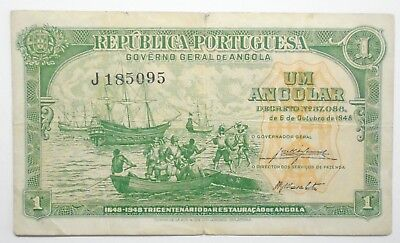 Angola - 1 Angolar - 1948 - Rare And Excellent