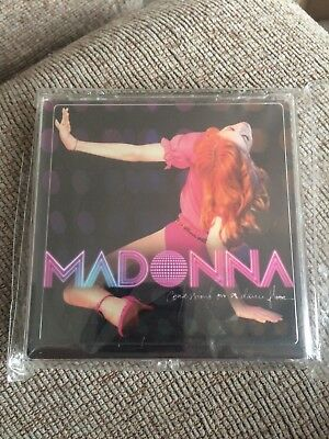 madonna official confessions on a danefloor coasters unused