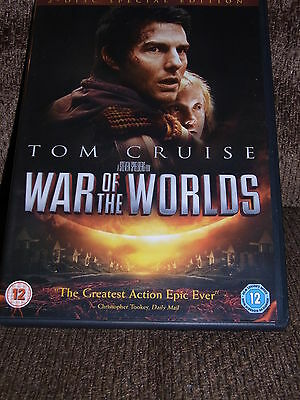 War Of The Worlds (Dvd, 2005)  2 Disc Special Edition Region 2 Pal Tom Cruise
