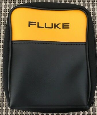 "Fluke Durable Polyester Soft Carrying Case, 6.5""x 5"" x 1.5"" Pouch W Strap ~New"