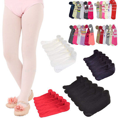 6pc BABY TODDLER GIRL WINTER SOLID PRINTED TIGHTS CUTE COMFORTABLE LOT SIZE S-XL