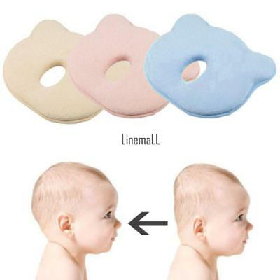 Soft Baby Cot Pillow Prevent Flat Head Memory Foam Cushion Sleeping LM