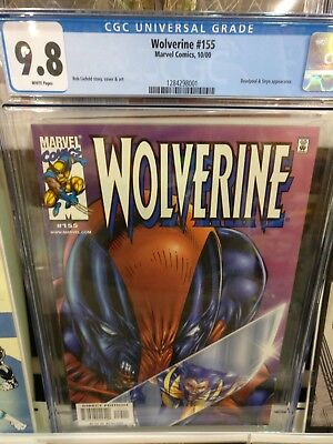 Marvel Comics Wolverine #155 Deadpool Cover Liefeld Comic Book