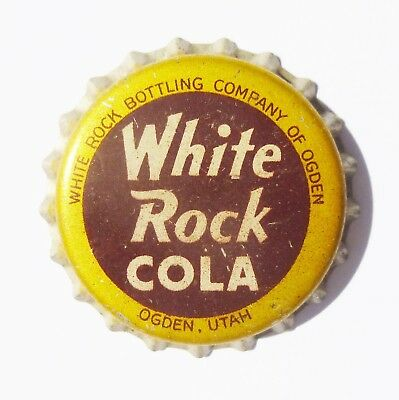 Unused White Rock Cola Cork Bottle Cap Ogden, UT  Rare!!