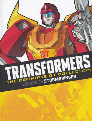 TRANSFORMERS : THE DEFINITIVE G1 COLLECTION Issue 2 : Volume 36 Stormbringer HC