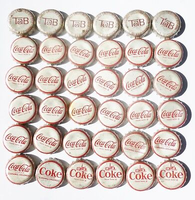 Coca-Cola and Tab Cork Bottle Caps Harrisburg, Lancaster, Sunbury , PA
