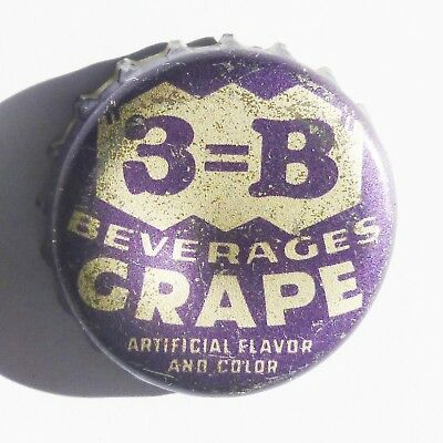 3=B Beverages Cork Bottle Cap  Oberlin, Kansas  Super Rare!!