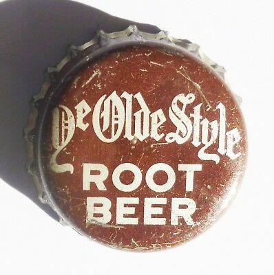 Ye Olde Style Root Beer Cork Bottle Cap Leavenworth, Kansas  Super Rare!!