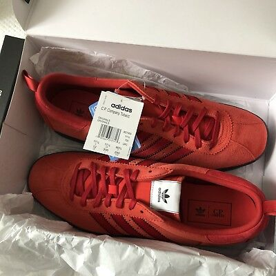 ef987fc53a3f Brand New Adidas Originals C.p Company Tobacco Red Suede Trainers Bd7959 Uk  11.5