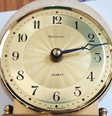 90 mm round dial for Hermle anniversary clock