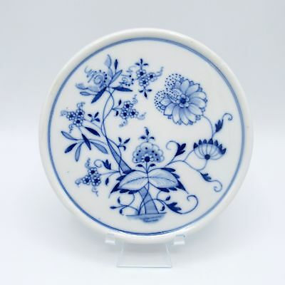 Antique Meissen Germany Blue Onion Trivet