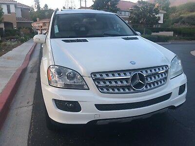 2008 Mercedes-Benz M-Class  2008 Mercedes Benz ML 320 CDI Diesel