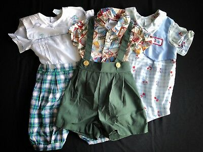 Lot Of Baby Boy Vintage Clothes 6-12mon~ Baseball Theme