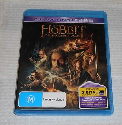 Blu-Ray DVD The Hobbit The Desolation Of Smaug