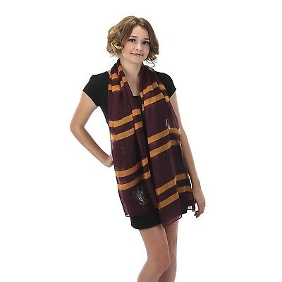 Grifondoro Leggero Sciarpa Harry Potter Hermione Costume Halloween Accessorio
