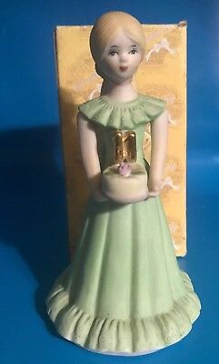 Enesco Growing Up Birthday Girls Blonde Figurine Age 11 NIB