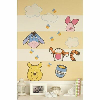 Winnie the Pooh: Peeking Pooh Nursery Wall Decals Stickers By Disney Baby