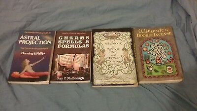 LOT OF 3 Wicca Witchcraft Books magick occult Conway Telesco